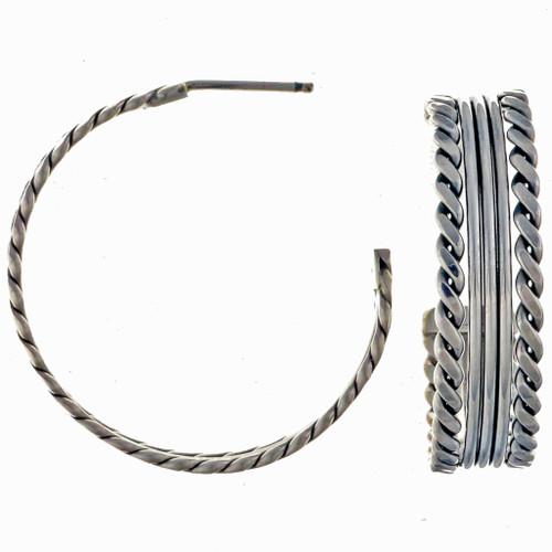 Navajo Post Earrings 23128