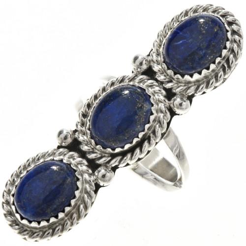 Blue Lapis Ladies Ring 29105