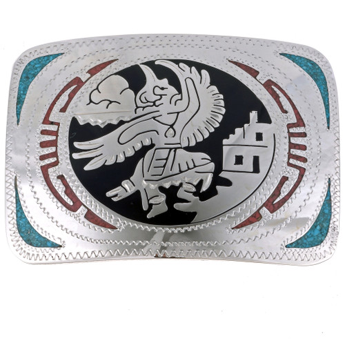 Eagle Kachina Belt Buckle 23697