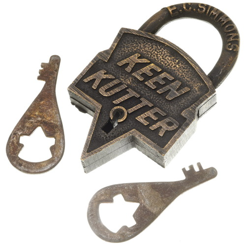 Keen Kutter Pad Lock 37102