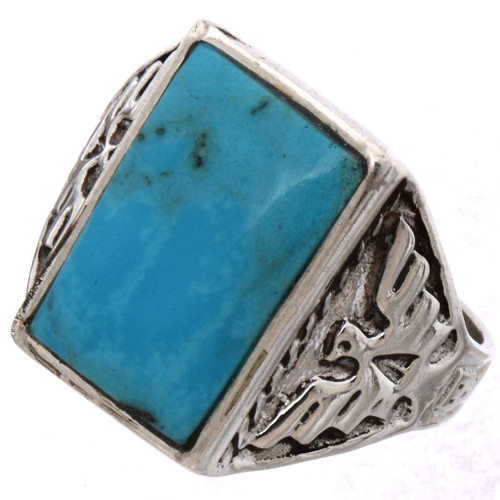 Native American Thunderbird Mens Ring 25495