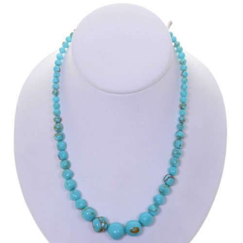 Turquoise Graduated Beads 25645