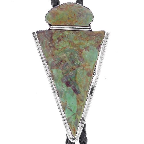 Turquoise Arrowhead Bolo Tie 25136