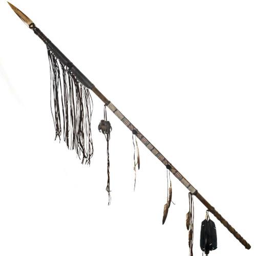 Indian Medicine Bag Warrior Spear 27641