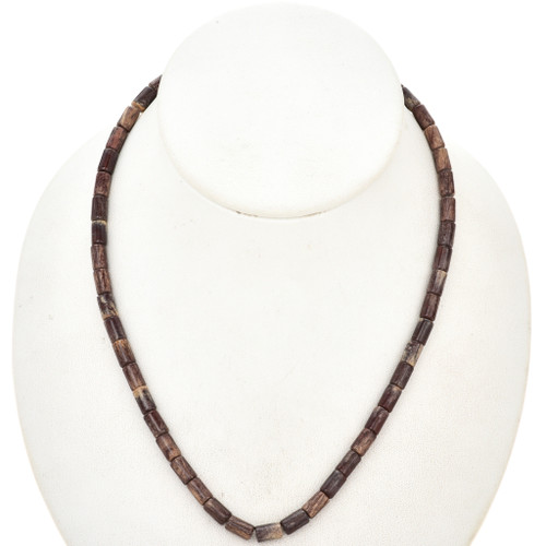 5mm by 8mm Picture Jasper Beads 16 inch Long Strand