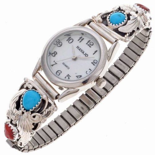 Turquoise Coral Ladies Watch 24571