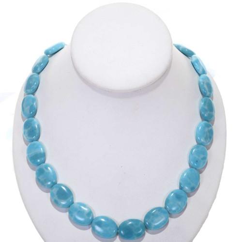 Blue Larimar Color Beads 25582
