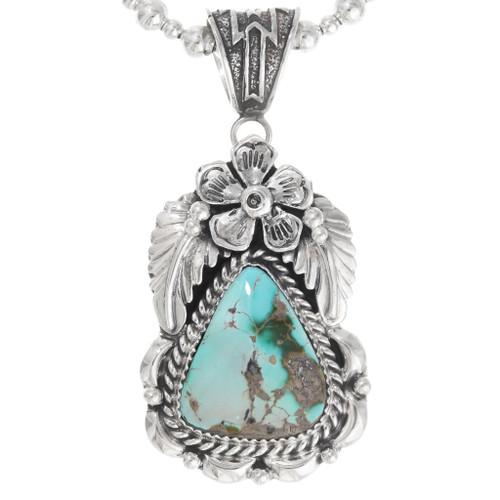 Navajo Royston Turquoise Pendant 29050