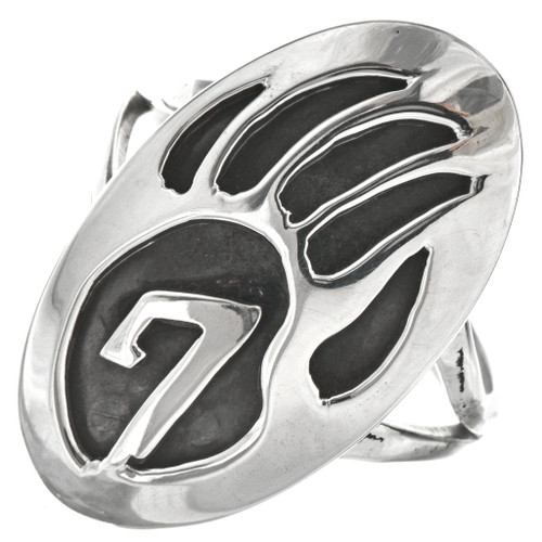 Bear Paw Ladies Sterling Ring 29736