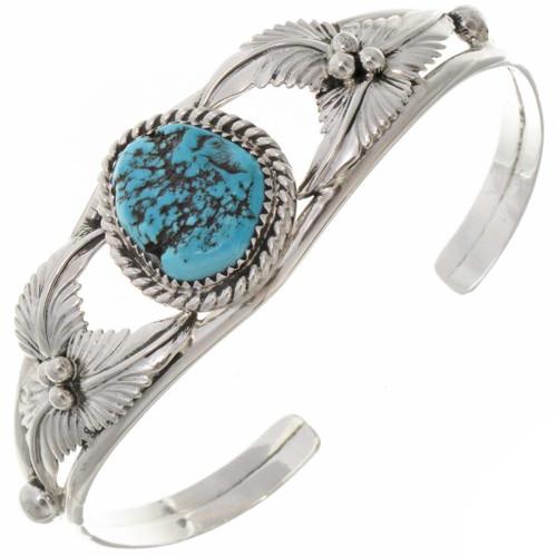 Navajo Turquoise silver Bracelet 25786