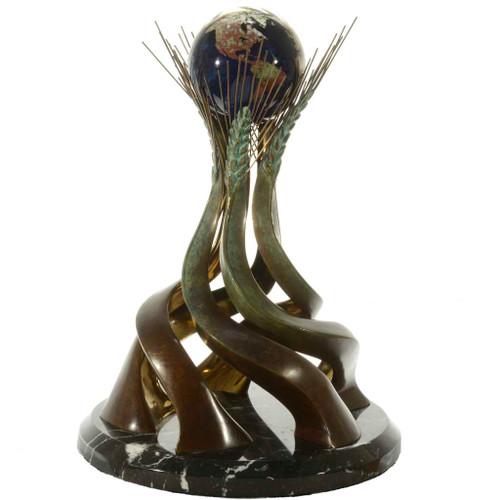 Bronze Glass Sculpture 26114