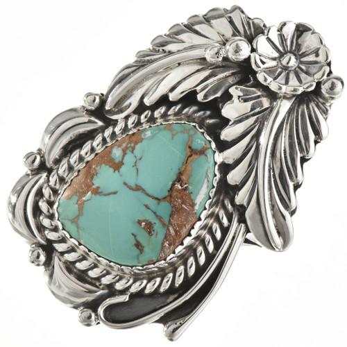 Navajo Kingman Turquoise Ring 27128