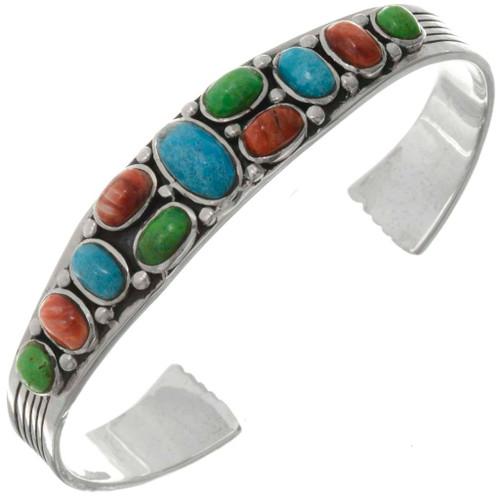 Turquoise Gaspeite Shell Bracelet 26357