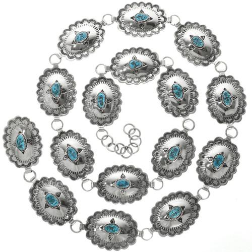 Southwest Turquoise Link Concho Belt 22263