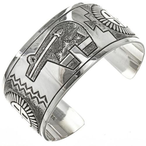 Overlaid Silver Navajo Bracelet 29078