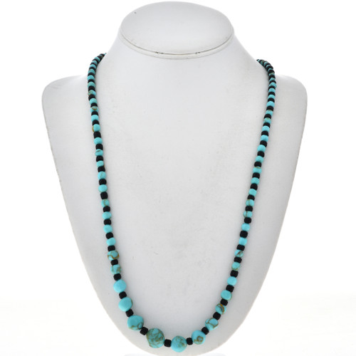 Turquoise Shell Native American Necklace 29266