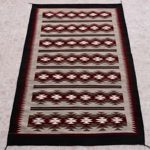 Navajo Chinle Stars Wool Rug 27975