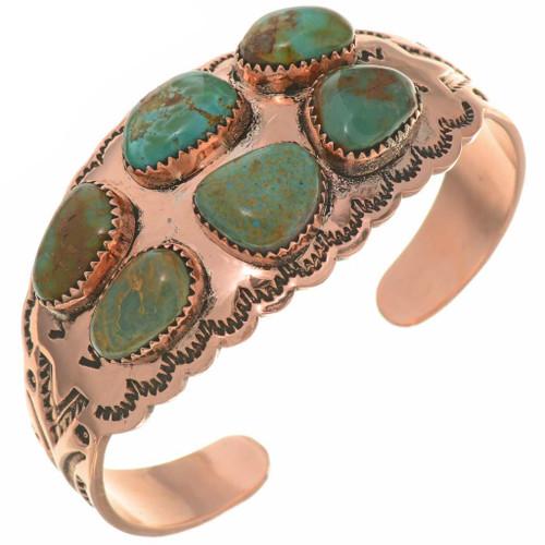 Turquoise Copper Cuff 26716