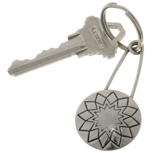Sunburst Concho Key Ring 27501