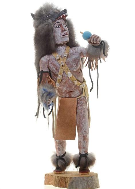 Gray Wolf Kachina Doll 27275