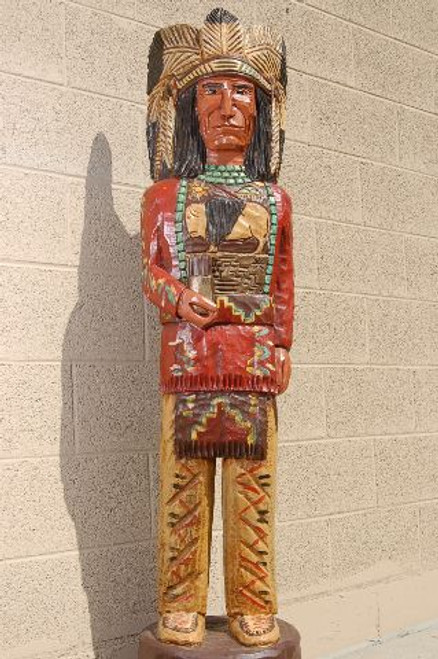 Red Coat Cigar Store Indian  33960