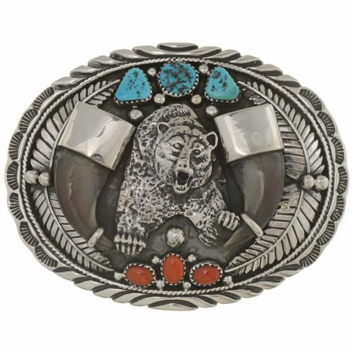 Bear Claw Belt Buckle 25317