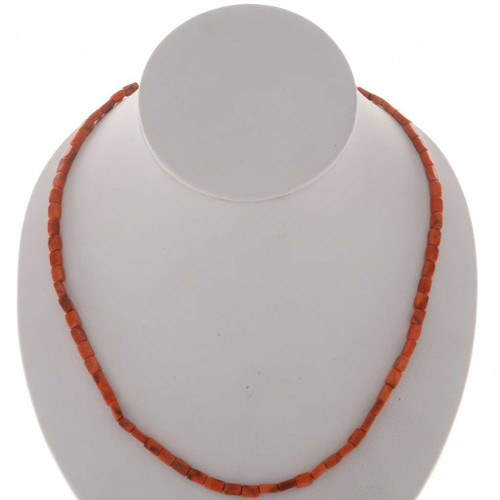 Red Orange Coral Beads 25623