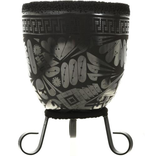 Black Mata Ortiz Pottery