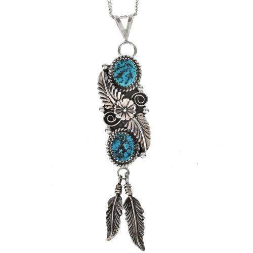 Native American Turquoise Pendant 27115