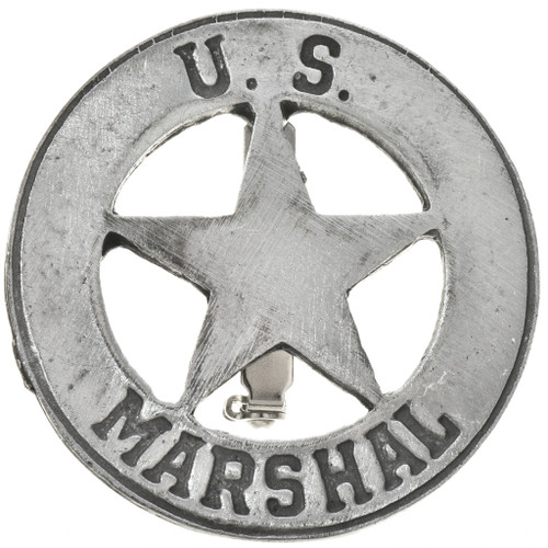 US Marshal Western Silver Badge 29188