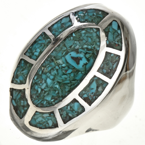 Turquoise Mens Ring 25514