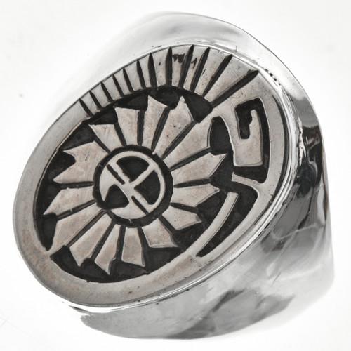 Mens Ring Hopi Sunface 29704