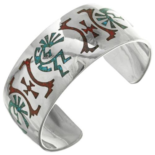 Hopi Kokopelli Cuff Bracelet 23064