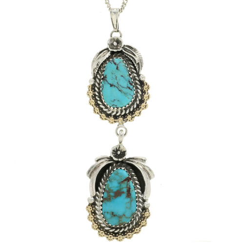 Bisbee II Turquoise Pendant 29432