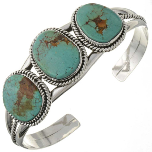 Traditional Turquoise Cuff Bracelet 27432