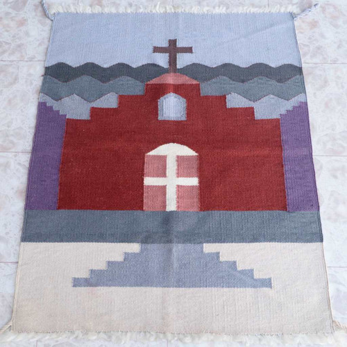 Navajo Style Church Pattern Rug 25071