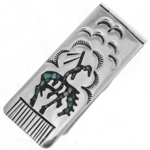 Navajo End Of Trail Money Clip 24135