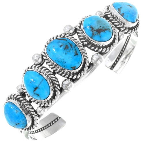 Natural Turquoise Cuff Bracelet 16120