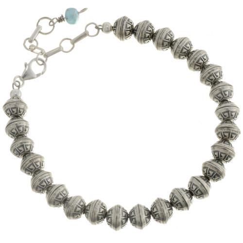 Desert Pearl Navajo Bracelet 24993