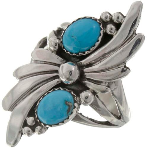 Natural Turquoise Ladies Ring 26211