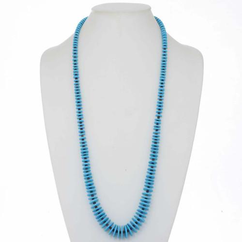 Turquoise Heishi Necklace 25359
