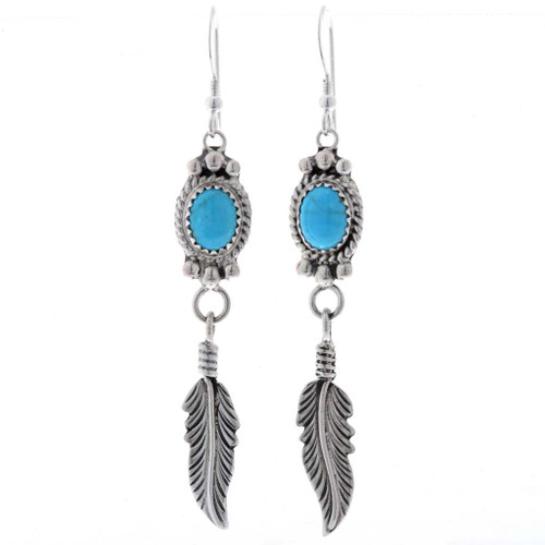 Turquoise French Hook Earrings 27493