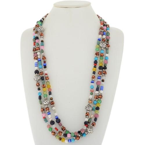 Native American Treasure Necklace 17092