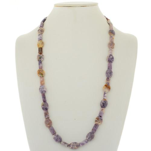 Purple Charoite Beaded Necklace 28300