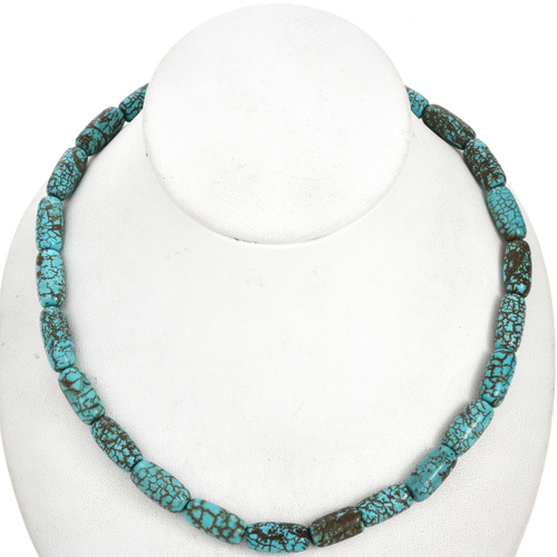 Turquoise Magnesite Beads 30858