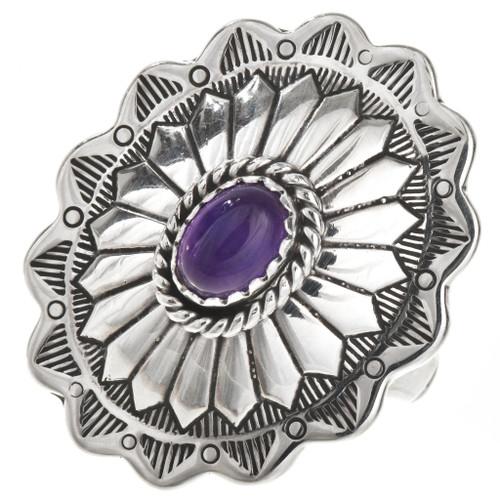 Sterling Silver Amethyst Ring 28945