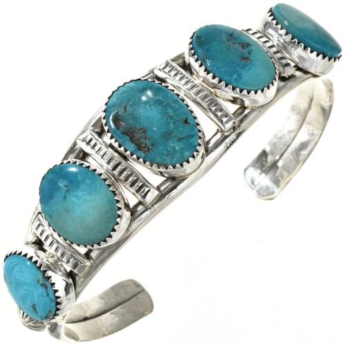 Turquoise Five Stone Bracelet 29234