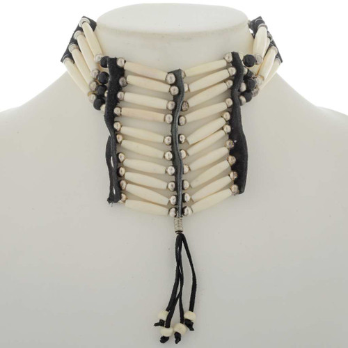Indian Style Bone Choker 27090