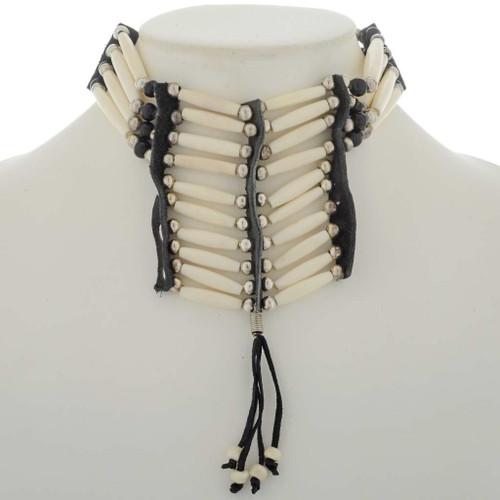Indian Style Bone Choker 27090