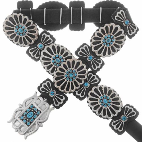 Kingman Turquoise Concho Belt 27219